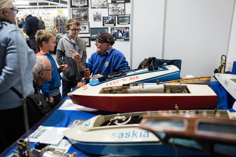Layouts & Displays — International Model Boat Show